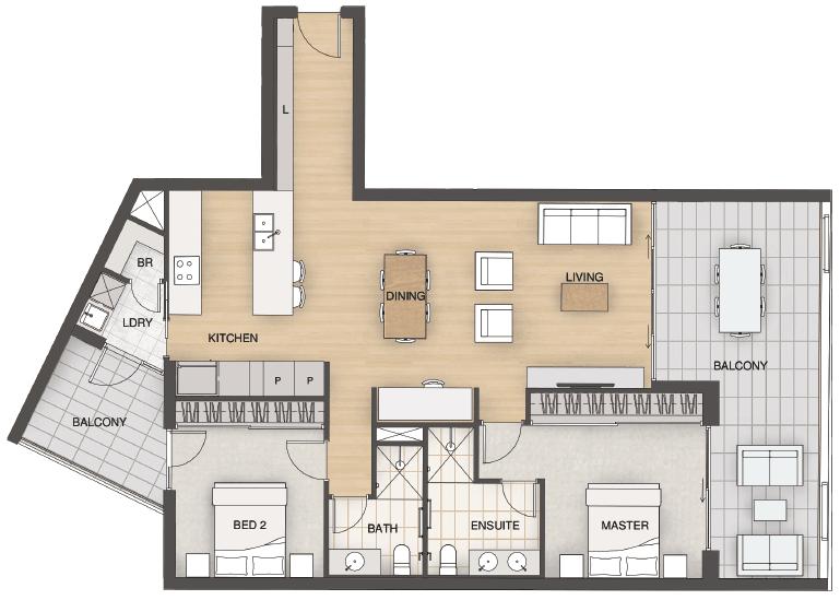 Essence-Floorplans-Type-C12