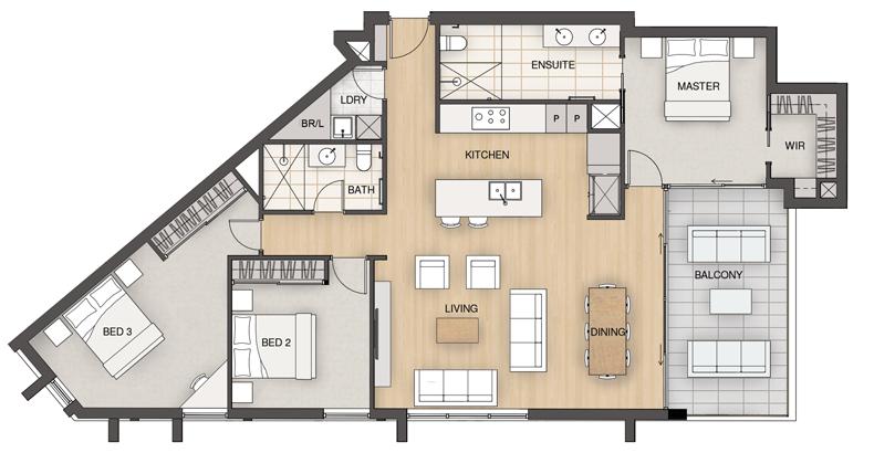 Essence-Floorplans-Type-D1