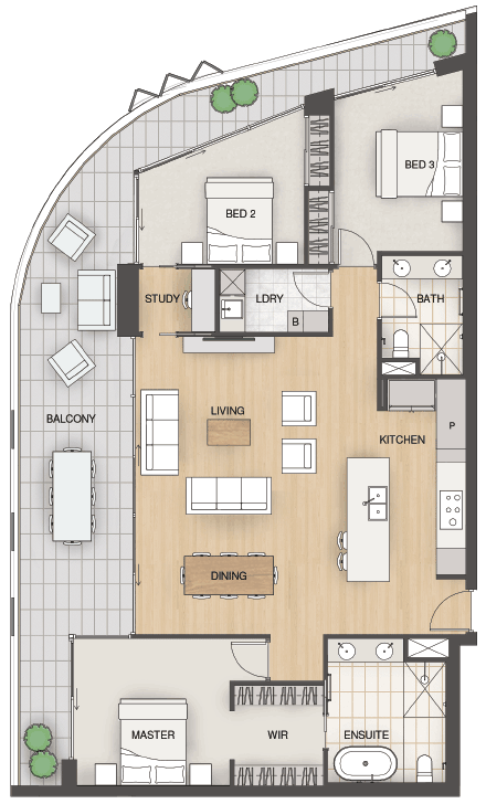 Essence-Floorplans-Type-D2